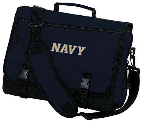 USNA Navy Laptop Bag Naval Academy Computer Bag Messenger Bag