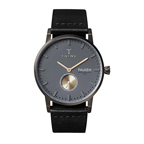Triwa Unisex Erwachsene Leder Uhrenarmband FAST102-CL010113
