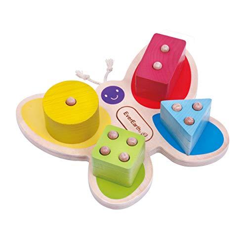 EverEarth Schmetterlingsteckspiel (EE33780), Multi