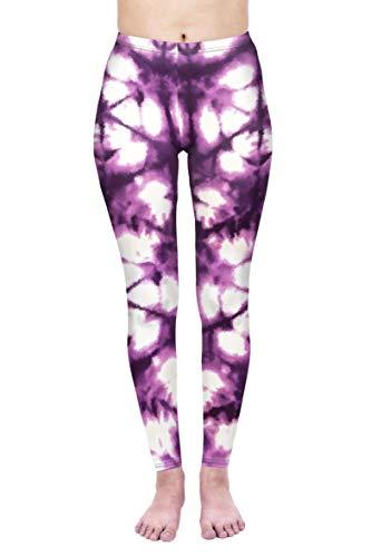 kukubird Printed Patterns Women's Yoga Leggings Gym Fitness Running Pilates Tights Skinny Pants Size 6-10 Stretchable-Thank You Next