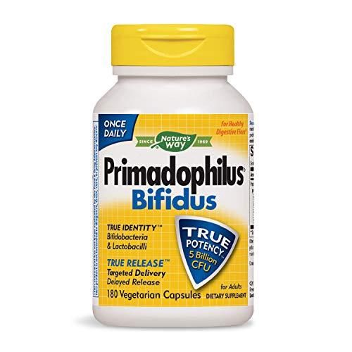 Nature's Way Primadophilus Bifidus, 5 Billion, 180 Capsules