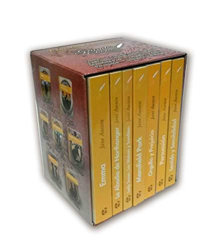 Pack Novelas completas De Jane Austen: 1 (Colección Grandes Clásicos)