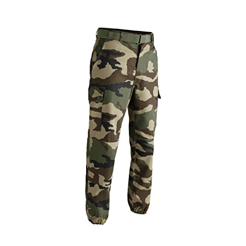 Pantalon treillis militaire F2 entrejambe 76 cm cam ce - 44