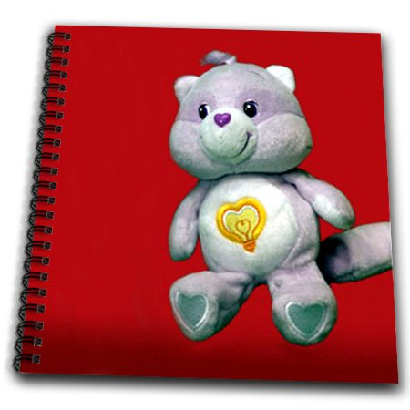 3dRose db_1037_2 Care Bear Cousin Raccoon Memory Book, 12 by 12-Inch