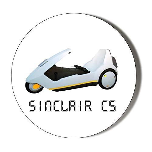 Abrebotellas magnéticas Sinclair C5 de los años 80 – SIR CLIVE Sinclair – 58 mm