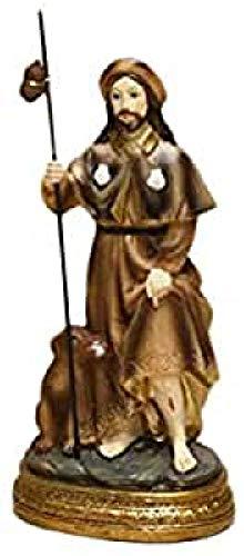 Trofeos Cadenas San Roque Figura Religiosa en Resina, 12 cm