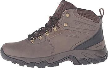 Columbia mens Newton Ridge Plus Ii Waterproof Boot Hiking Shoe, Mud/Sanguine, 11 US