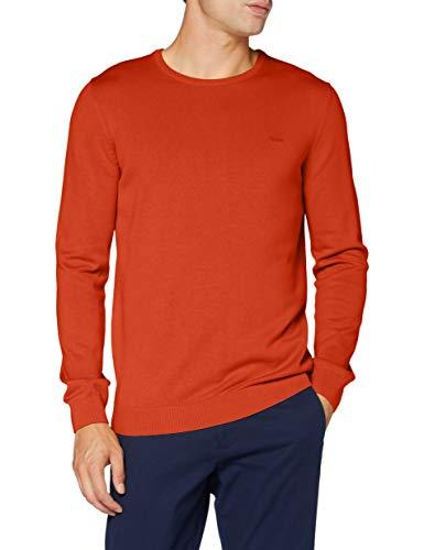 s.Oliver Herren 130.11.899.17.170.2040664 Pullover, Orange(24W0), 3XL