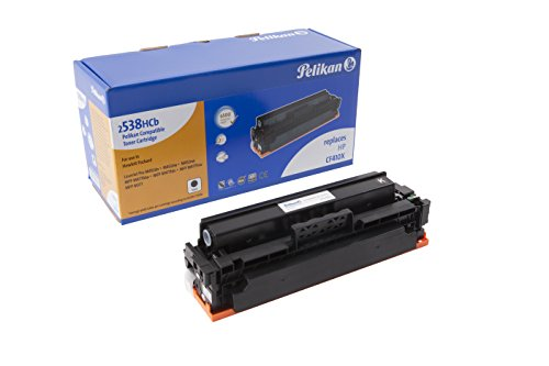 Pelikan Toner ersetzt HP CF410X (passend für Drucker HP CLJ Pro M 452 / MFP M 477X)