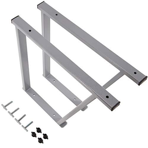 VW T5 / T6 Multivan Multiflexboard flexboard consolas polvo negro extensión recubierto T5 cama cama [Höhe.51cm] Junta Multi (gris)