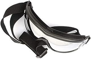 CUHAWUDBA クール、ペット犬のゴーグル、スタイリッシュなuvサングラス、小犬と犬用アクセサリー、弾性眼鏡保護防風メガネ、ペット用品