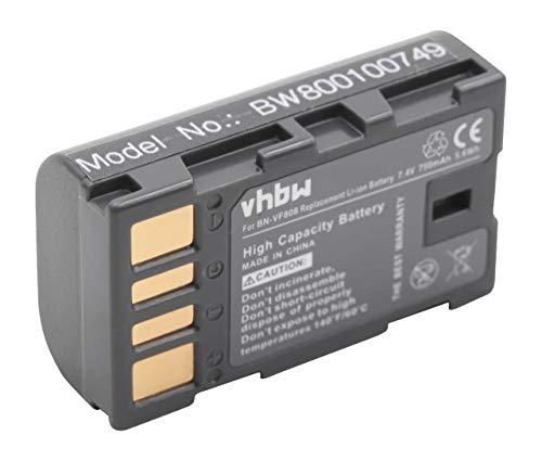 Batteria per videocamere digitali JVC BN-VF808 BN-VF808U batteria con Info-chip di dati