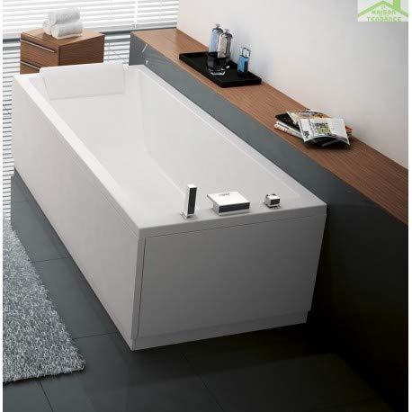 Novellini - Vasca da bagno in acrilico CALOS - senza rubinetteria
