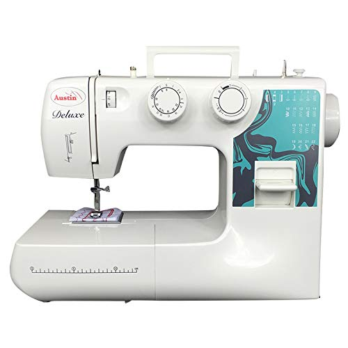 Sewing Machine Full Size AUSTIN KP900 22 AUTO Select Stitch Patterns, Twin Needle Stitching. 2 Year Warranty and Free DELIVERY