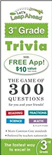 Let's Leap Ahead 3rd Grade Trivia Notepad: The Game of 300 Questions for you and your friends!