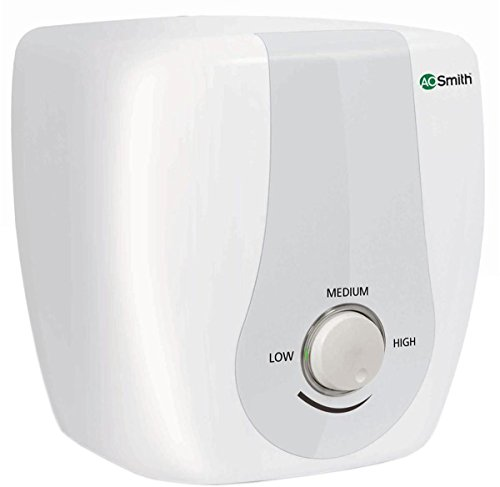 AO Smith SAS-10 10 L Storage Geyser (White)