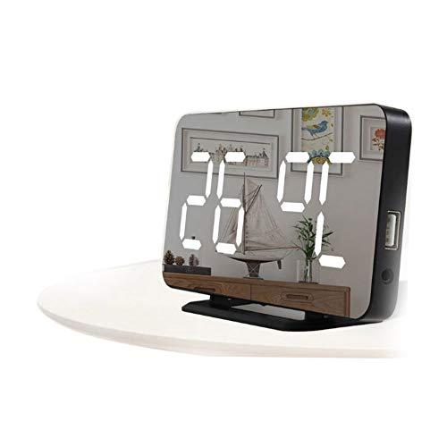 LICHUXIN Wetterstation LED-Uhr Produkt ist schwer 200g Sensor displaymoon Größen 16,6 * 3,9 * 8,6 mm-Display und Alarmzyklus Spiegeltakt Touch kann mit 3 Sensoren zur gleichen Zeit ausgestattet werden
