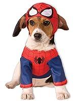 ルービーズ スパイダーマンペットコスチューム Rubies Spiderman Pet Costume スパイダーマンペットコスチューム ハロウィン サイズ:Large [並行輸入品]