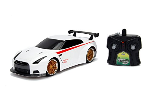 Hyperchargers 2.4Ghz Radio Remote Control Car 1/16 JDM Tuners 2009 Nissan Gt-R (R35) R/C RTR (White)