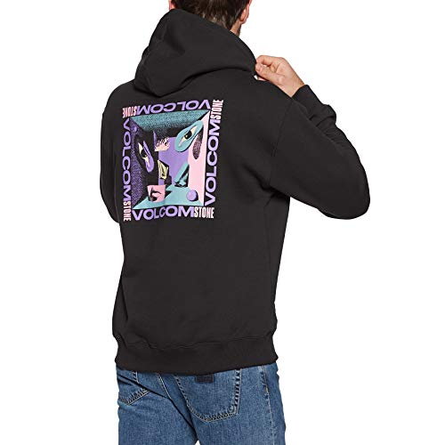 Volcom Fortifem Fleece Mens Jersey Hoody Medium Black