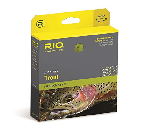 Rio Fly Fishing AVID 24' Sinking TIP 300GR. Black/Pale Yellow W/Leader