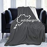keben Nurburgring - Manta de Felpa para sofá, Ultra Suave, de Microfibra, Felpa