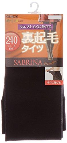 『[グンゼ] タイツ サブリナ ウォームプラス 裏起毛タイツ 240デニール SB87 レディース』の1枚目の画像