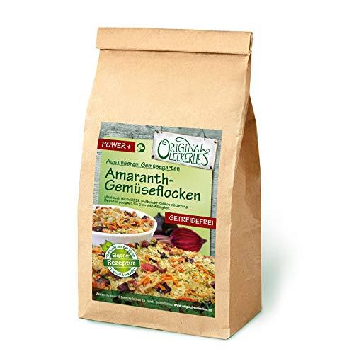 Original-Leckerlies: Amaranth-Gemüseflocken, 1 kg getreidefrei Gemüseflocken, Hundeflocken, Hundefutter, Naturprodukt für Hunde, barfen