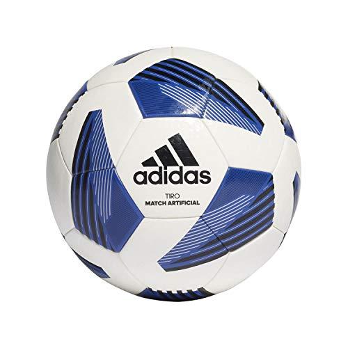 adidas Unisex– Erwachsene Tiro LGE Art Trainingsball, White/Black/Silvmt/Ro, 5