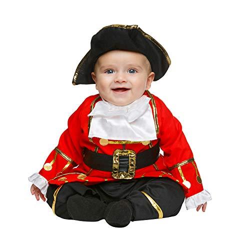 Desconocido My Other Me-204967 Disfraz de pequeño corsario, 0-6 meses (Viving Costumes 204967)
