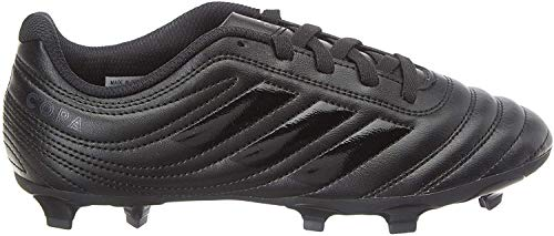 adidas Boys Copa 20.4 (FG) Football Shoe, Core Black/Core Black/Solid Grey, 35 EU