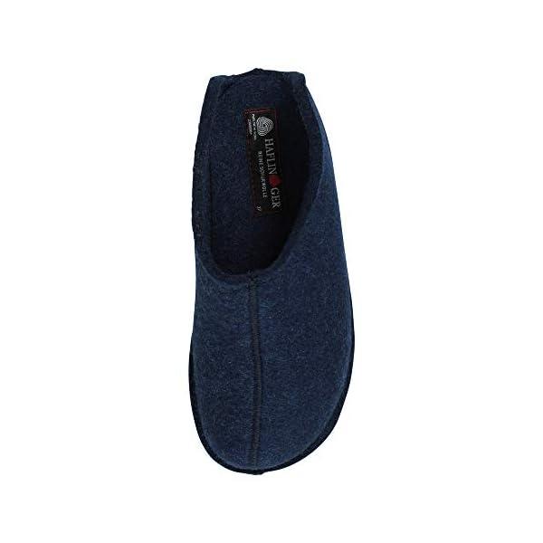 HAFLINGER Men's Open Back Slippers