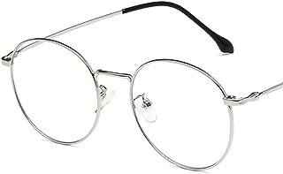 Unisex Glasses Frame Retro Gold Rose Gold Round Full Frame Decoration Prescription Glasses