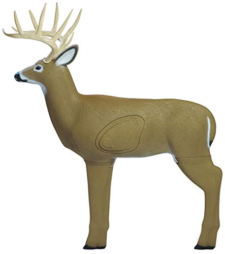 Field Logic Big Shooter Crossbow Buck 3D Archery Target with Replaceable Core, Brown
