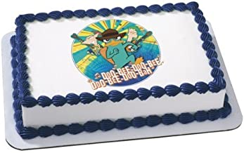 Phineas & Ferb Agent P Edible Cake Image Topper