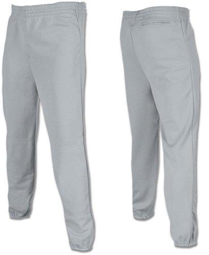 Joe's USA - Youth Baseball Softball Pull Up Pants-Grey-XS