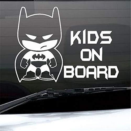 Wandtattoo Kinderzimmer Wandtattoo Schlafzimmer Batman Wall Decal Aufkleber BATMAN Baby an Bord Auto Truck Graphics Decals Vinyl Removable Bumper Sticker kostenlos