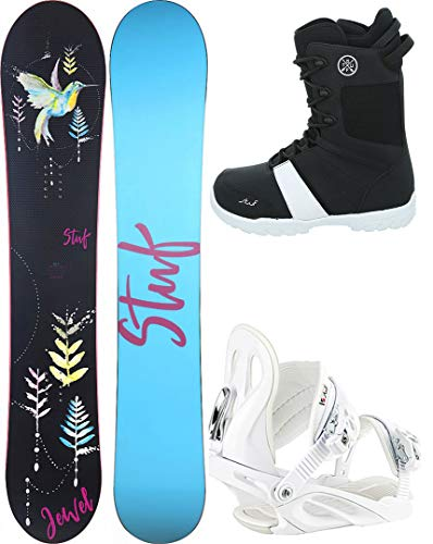 Stuf Jewel Lady 152 2021 inkl. Fame White + Pure Boot, 37