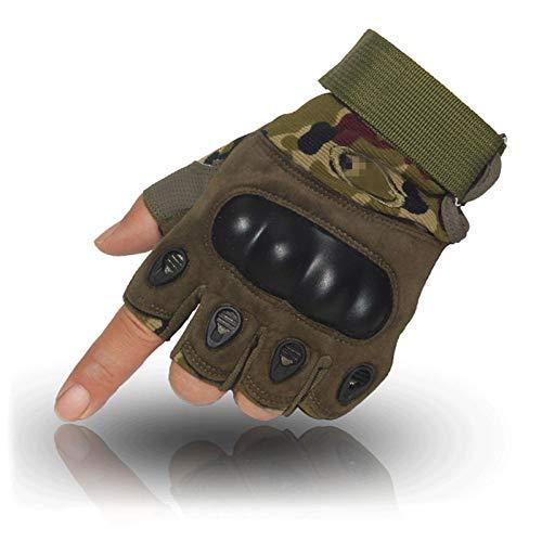 gloves Gants Demi-Doigts Black Hawk Gants de Remise en Forme pour Hommes