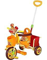 ジョイパレット おでかけ三輪車 わくわくアンパンマンごう ピースII オレンジ