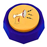 RIBOSY Rap Airhorn Sound Button - Hip Hop Air Horn Sound Effect Button - Hype Up Your Life (Batteries Included)