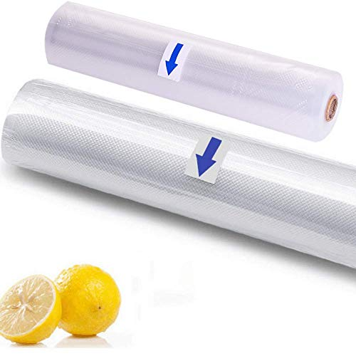 Best Buy! Zhung Ree Premium! Vacuum Sealer Bags, 2 Rolls Commercial Grade Sealer Saver Rolls for Fo...