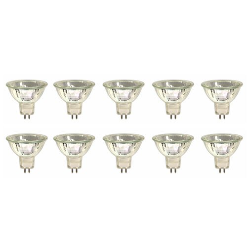 10 x Halogen Spiegellampe Kaltlicht Reflektor Strahler MR16 G5,3 20W 20 Watt 12V
