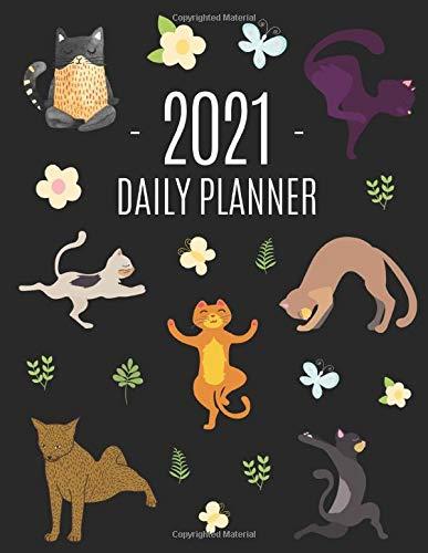 41puZJwDYWL - Calendrier 2021 des Chats Adeptes de Yoga pour se Relaxer