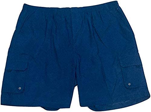Big and Tall Sold Cargo Quick Dry Swim Suit Trunks to 10X