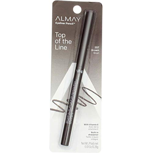 ALMAY Eyeliner Pencil, Brown [207], 0.01 oz by Almay