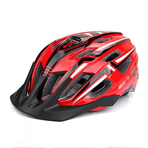 LIXIAOHONGG Casco Bicicleta,Bicicleta Casco Adulto,Unisexo con Certificado CE Fuerte Protección 19 Orificios...