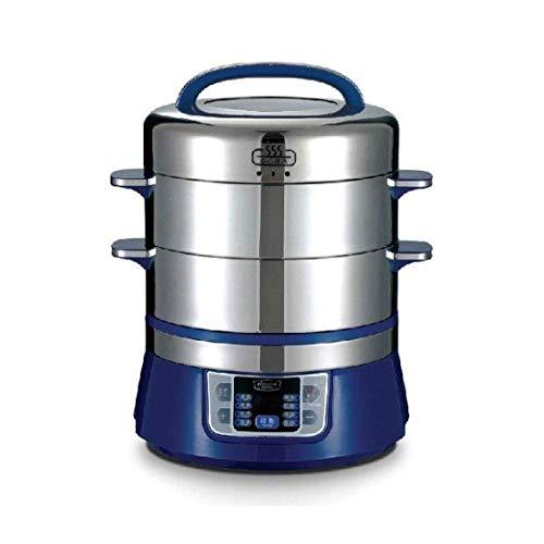 DZX Autocuiseur programmable à usages Multiples, mijoteuse, cuiseur à Riz, yaourtière, Machine à gâteaux, cuiseur à œufs, Cuisson au Four, Faire Sauter/saisir, cuiseur Vapeur, Pot Chaud, sous Vide