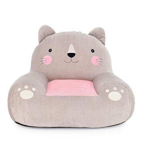 JIAHENGY Kindersofa Kindercouch Kindersessel ,Kinder Plüsch Sofa Sitz, Kinder Stuhl, Bequeme Sessel Tier Sofa Sitz-Katze