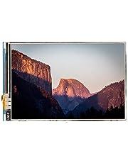 3,5 tums 480x320 färgstark LCD TFT LCD-pekskärm, högupplöst motståndskärm för Raspberry Pi, lång livslängd, inte lätt att skada, HD mini Raspberry Pi universalskärm